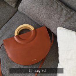 Sézane - Sac Ama Chocolat