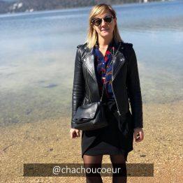 Ba&Sh - Blouse Laura Marine fleurie