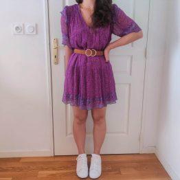 Ba&Sh - Robe Maggy Violette